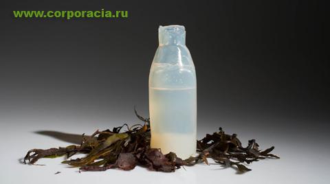 бутылка из агар-агара