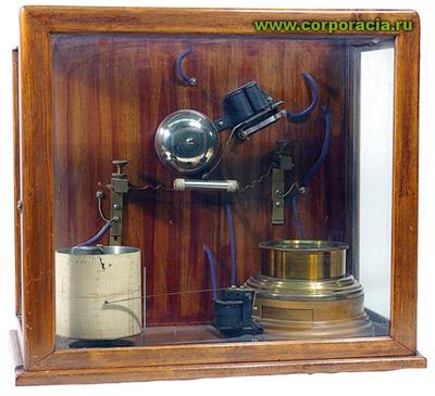 Первый примитивный радиоприемник