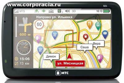 GPS МТС