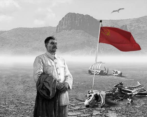 дотянулся проклятый Сталин