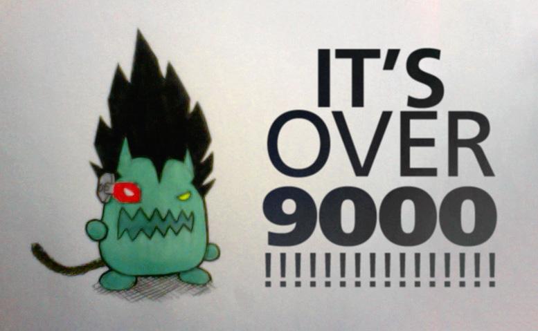 9000!