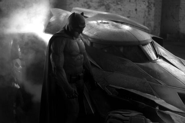 Грустный Бэтмен